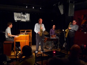 Cellar 12th Anniversary with PJ Perry - Jerry Weldon Quartet — September 30, 2012